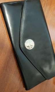 Oroton black wallet /clutch