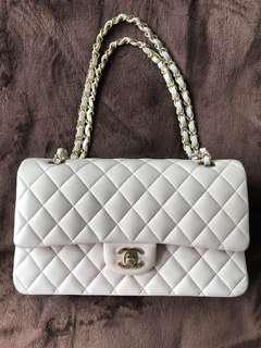 Chanel medium Baby pink with champagne gold hardware RARE. Final sale price!!!