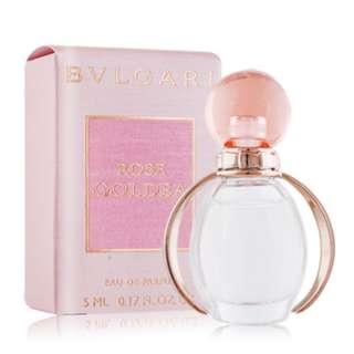 ❰保證正品❱BVLGARI寶格麗 玫瑰金漾女性淡香精 5ml 小香 女香 香水