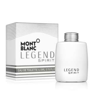 ❰保證正品❱MONTBLANC萬寶龍 傳奇白朗峰男性淡香水4.5ml 男香 小香 香水