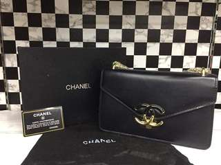 Chanel Gold Chain Sling Bag