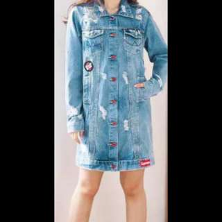 Jaket Jeans Ripped