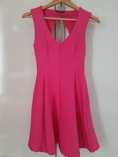 Pink Fuschia dress