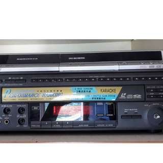 Laser Disc Player and DVD player/recorder