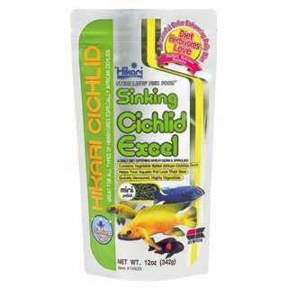 Hikari Sinking Cichlid Excel Sinking Mini Pellet 342g