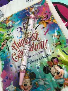 Tokyo Disney 公主筆 原子筆 pen