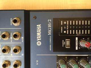Yamaha MG10/2 audio mixer