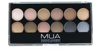 🚚 [BN] Makeup Acdemy MUA 12 Shades Palette - Undressed