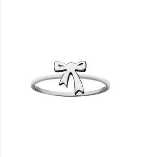 KAREN WALKER mini bow ring