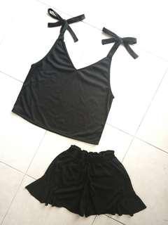 [NEW] Cami Bow Tie Set