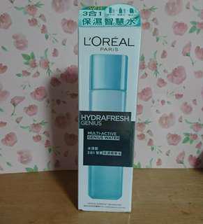 🚚 L'Oréal 巴黎萊雅 三合一保濕智慧水