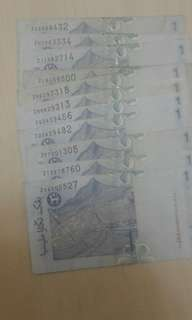 1 ringgit Replacement note
