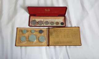 1986 & 1983 coin set
