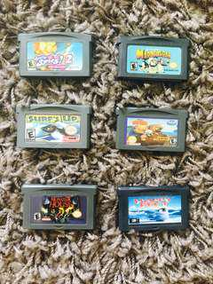 Gameboy Advance Misc. Games (GBA)
