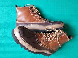 Jimmy Black 男庒高筒皮鞋