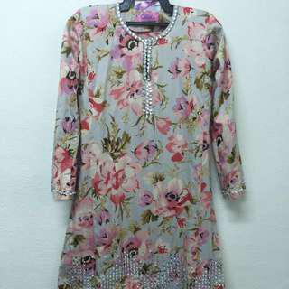 Kurung english cotton