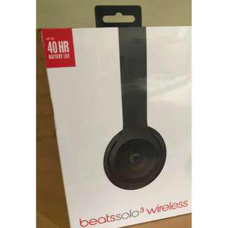 Beats Solo 3 wireless by Dr. Dre - brand new sealed