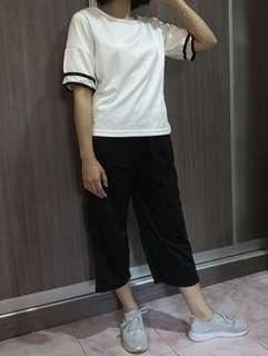 Set wear shirt and crop pant (1 set)
