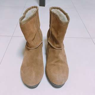Union Momoni Brown boots 啡色靴