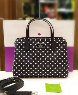 BRANDNEW KATE SPADE SMALL LODEN BLAKE AVENUE ❤BIG SALE P13,500 ONLY ❤ With long strap card paperbag and gift receipt Swipe for detailed pics