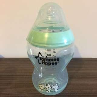 Tommee Tippee BB奶樽 260ml baby feeding milk bottle