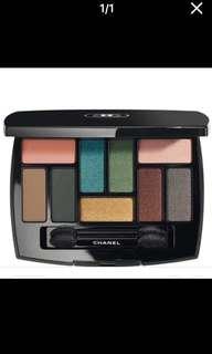 18年推出Chanel LES  9 Ombres Platte 限量眼影調色盤 eye shadow眼影skin