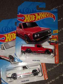Hotwheels 1lot MAZDA PERU