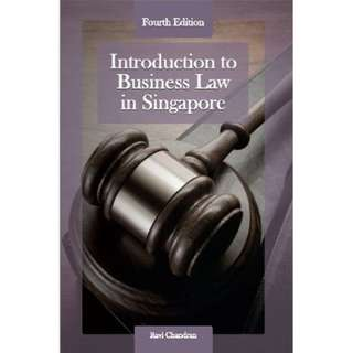 Introduction to Business Law in Singapore by Ravi Chandran, 4th Edition, McGraw-Hill