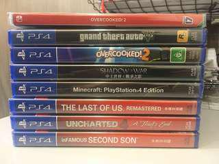 PS4 New & Sealed Games