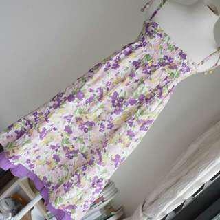 購自日本品牌全棉洗水連衣裙