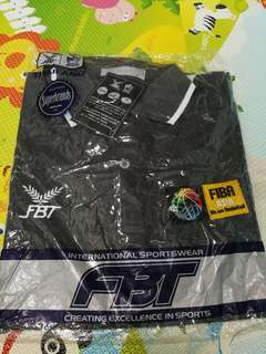 全新 FIBA 灰色Polo Shirt, xl size