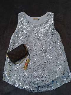 Herbench Sequined Top (brand new)