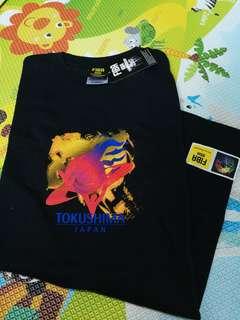 全新 黑色FIBA 2007 t shirt, xs size