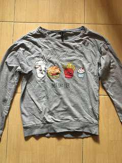 H&M Printed Design Sweatshirt