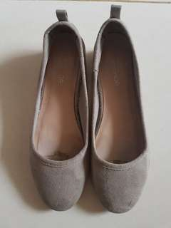 Top shop grey shoes