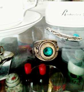 1950年份舊英國古董戒指