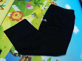 全新黑色西褲款Adidas 長褲,m size