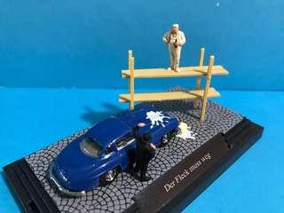 1/87 Mercedes Benz 平治300 SL 情景 Busch 德國廠出