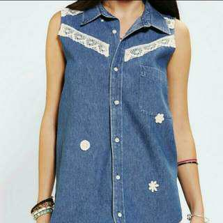 Urban Outfitters Denim Shirt