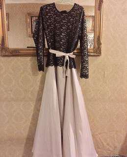 Wawa Zainal & Aeril Zafril Dress