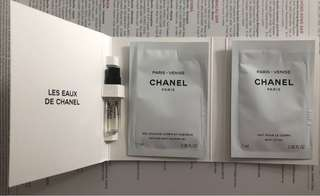 Chanel 香水 Sample Paris Venise EDT + Shower Gel + Lotion