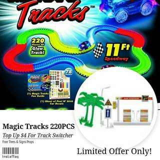 [FREE TREES & SIGNS PROPS] MAGIC TRACKS 220PCS