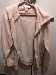 H&M basic jacket (baby pink)