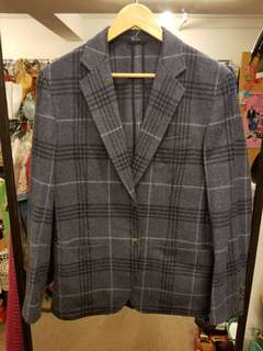 Hermes Men 50 wool blazer  jacket