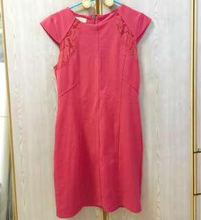 Labellavita Magenta Cheongsam Dress