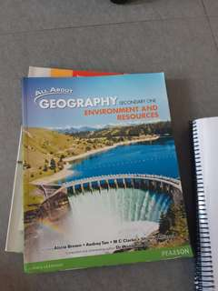 All About Geography Environment and Resources Textbook