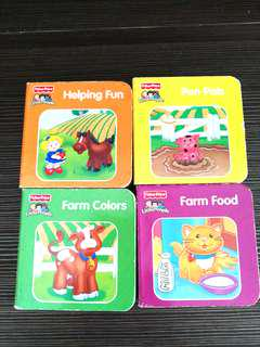 Fisher price hard cover set