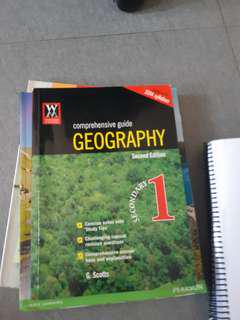 Secondary 1 geography guide with questions