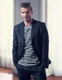 H&M x David Beckham Suit Blazer Pants Set