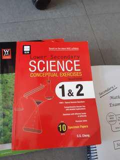 Lower secondary Science workbook